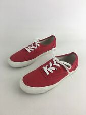 62a7a0244a5 Pro-Keds Womens Red Canvas Solid Lace Up Oxford Sneakers US Sz 8 EU Sz