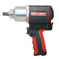 Craftsman Impact Wrench 1/2 in Air Tool Gun Portable High Torque Pistol - NEW