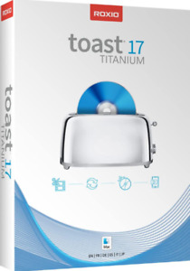 Toast 17 Titanium CD/DVD Burning Suite for Mac - Digital Download Only