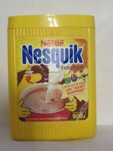 boite publicitaire Nesquik Groquik boîte promotionnelle 900grs.
