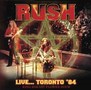 Rush-Live Toronto 84 King Biscuit Importation CD Bonus Piste F68