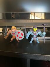 Mattel Masters Of The Universe Skeletor vs. He-Man SDCC 2013 Mini Figures Loose