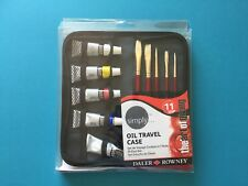 Daler Rowney Simply Oil Travel Case Paint and Brushes