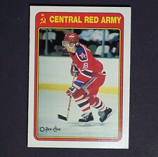 SERGEI FEDOROV pre RC  1989/90 OPeeChee Insert #19R  Central Red Army pre Rookie