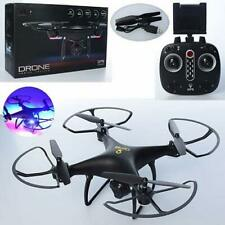New RC Quadcopter Drone Helicopter With GPS Wide Angle Adjustable Camera Lights