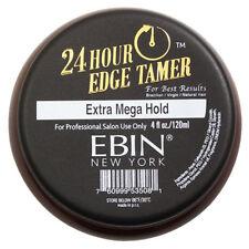 Ebin New York 24 Hour Edge Tamer Extra Mega Hold Hair Control Pomade Wax 4oz