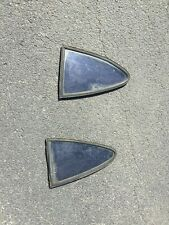 Opel Gt Rear Car Windows, Used, Set of Two, Good Condition