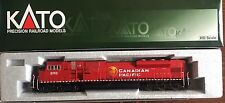 Kato HO Scale Canadian Pacific EMD SD90/43MAC Diesel Locomotive #9152