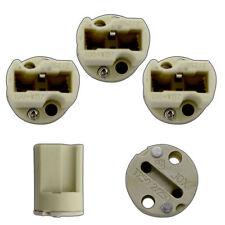 5x G9 LED Keramik Fassung / Sockel Niedervolt / Hochvolt 12V 230V weiß Halogen