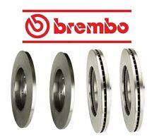 For Volvo C30 2008-2013 Front & Rear Brake KIT Disc Brake Rotors Original Brembo