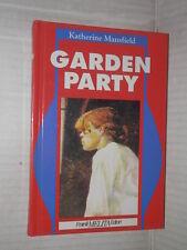 GARDEN PARTY Katherine Mansfield Fratelli Melita I capolavori letteratura 1992