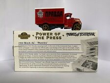 Matchbox Collectibles YPP06 1920 Mack AC 'Pravda' Power of the Press