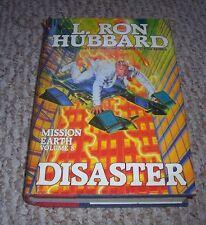 1987 1st DISASTER Mission Earth L Ron Hubbard vol 8 New York Mafia US Military