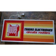 Enseigne lumineuse Jouef-Trains électriques-circuits routiers