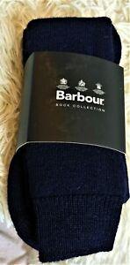 Barbour Fleece Wellington Socks. Navy - Medium GB 6-8 EUR 39-42 USA 7-9