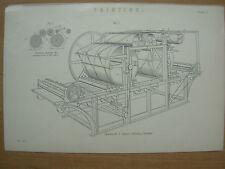 Antico 1880 Vittoriano Stampa Stampa applegath & Cowper MACCHINA PER LA STAMPA