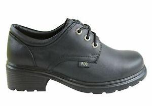 ROC Caper Older Girls/Ladies School Shoes - Leather