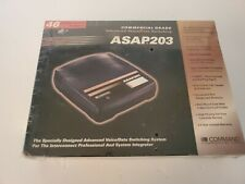 Command Communications Asap203 Advanced Voice/Data Switching up to 2 lines New!
