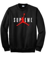 Felpa stampa Supreme Michael Jordan 23 nera stampa rossa new york  basket nba