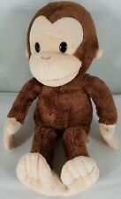 """Brown and Beige Plush CURIOUS GEORGE 11"""" Russ Berrie & Co 38005 Applause"""