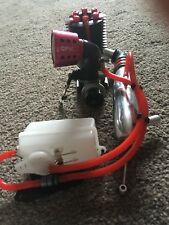 1/18 Nitro Rc Hobao Hyper 7 Engine With Exhaust And Fuel Tank