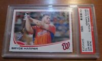 2013 Topps Update Bryce Harper Home Run Derby Card #US100 Graded GEM MT 10