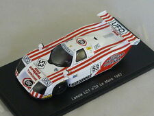 Spark S0664 - LANCIA LC1 n°53 Le Mans 1983 Hesnault - Perrier - Salam 1/43