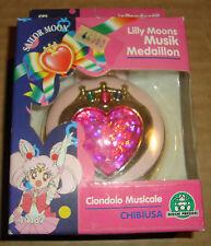SAILOR MOON - CIONDOLO MUSICALE CHIBIUSA/LILLY MOONS MUSIK MEDALLION -G.PREZIOSI