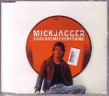 Rolling Stones MICK JAGGER God UNRELEASED & INSTRMENTAL CD Single SEALED