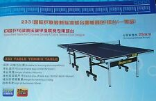 """1"""" top professional table tennis ping pong table,NATIONAL club level, local pick"""