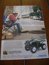 2003 YAMAHA GRIZZLY 660  ***ORIGINAL AD*** ATV