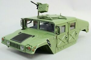 RC 1/10 HUMVEE HARD BODY Military Shell High Detail -ASSEMBLED-