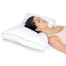 Sleep Yoga Dual Position Neck Pillow - Medium Firm