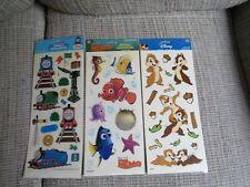 SANDYLION Scrapbooking Stickers Nemo Thomas the Train Chip & Dale NIP