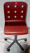 Discontinued IKEA JULES Swivel Chair in Brick