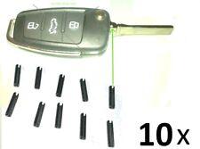10x Hohlsplint Stift Spannstift Splint Autoschlüschlüssel Bart Schlüssel Rohling