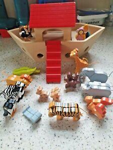 Goki - Wooden Noah's Ark - Playset