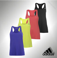 Ladies Genuine Adidas Workout ClimaLite Prime Tank Top Racer Back Vest Size 6-18