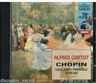 Chopin: 4 Ballades (Ballate), 14 Valses (Valzer), Tarantella / Alfred Cortot CD