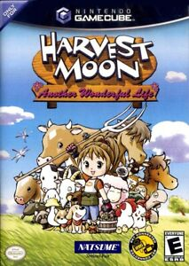 Harvest Moon Another Wonderful Life Nintendo Gamecube Complete