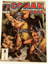 Conan Saga #19 Marvel Magazine 1st Print 1988 VF/NM