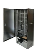 Electric Food Smoker high grade Embossed Stainless Steel by outdoorcook.co.uk