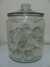 Marbles 1 Big Glass Clear Gem Jewel Purie Boulder 1-1/2 Mint Display Gift Pretty