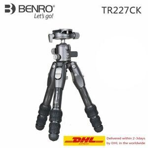 BENRO  TR227CK  professional carbon fiber  tripod kit  with G30 Ball Head