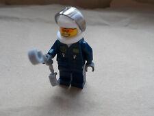 NEW LEGO CITY MOTORBIKE QUADBIKE SPEEDBOAT POLICEMAN + HELMET VISOR & HANDCUF