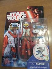 """STAR WARS The Force Awakens X-WING PILOT ASTY 3.75"""" Action Figure NEW IN BOX"""