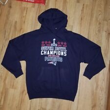 New England Patriots 4 Time Super Bowl XLIX Champions Sweatshirt men's size-XL