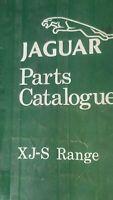 Genuine Jaguar XJS Range Illustrated Parts Catalog  RTC9900CA