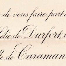 Stanislas Hélie De Durfort-Civrac De Lorge 1895 Victoire De Riquet De Caraman