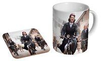 Call The Midwife Bicycle Ceramic Tea - Coffee Mug Coaster Gift Set